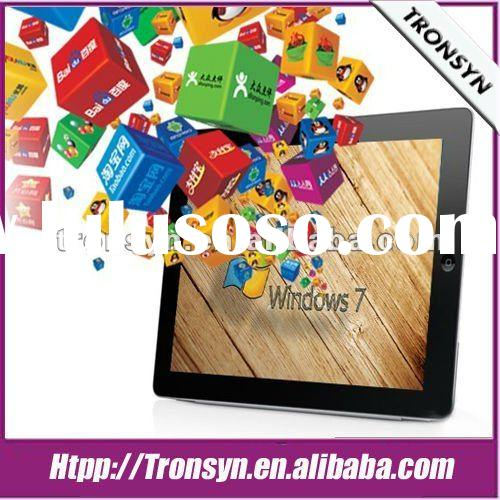 "NewArrival 9.7"" IPS Capacitive Screen windows tablet pc support 3G+WiFi and Dual OS"