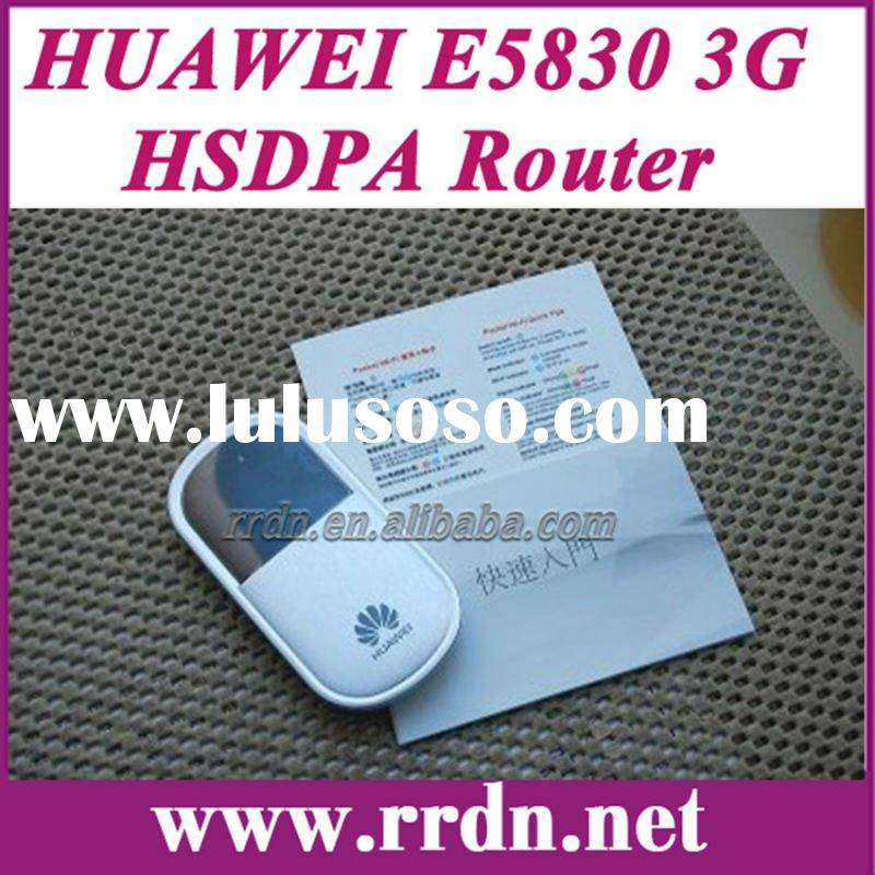 New portable 3G wifi router Original Huawei E5830 HSUPA mobile wifi router for iPad wifi