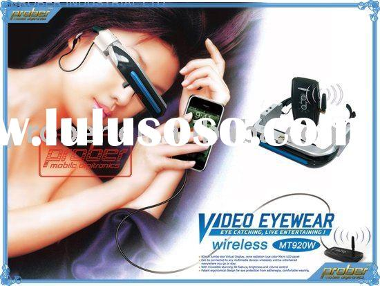 Newest and good wireless video glasses with 3D feature
