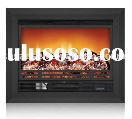 No flame decorative insert electric fireplace