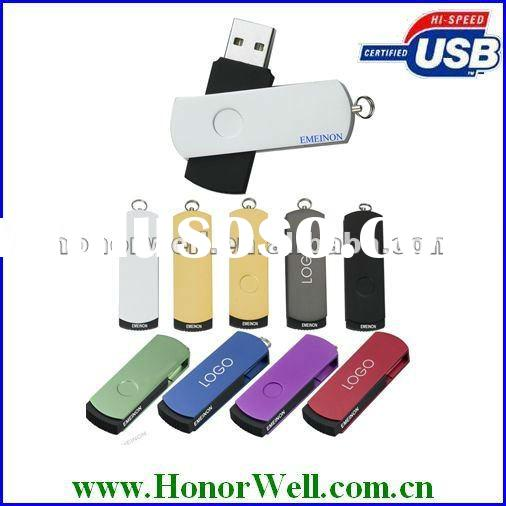 OEM Cheapest Swivel Fancy Pen Drive Customize Logo and Color With Good Quality