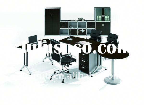Office partition design glass wood partition