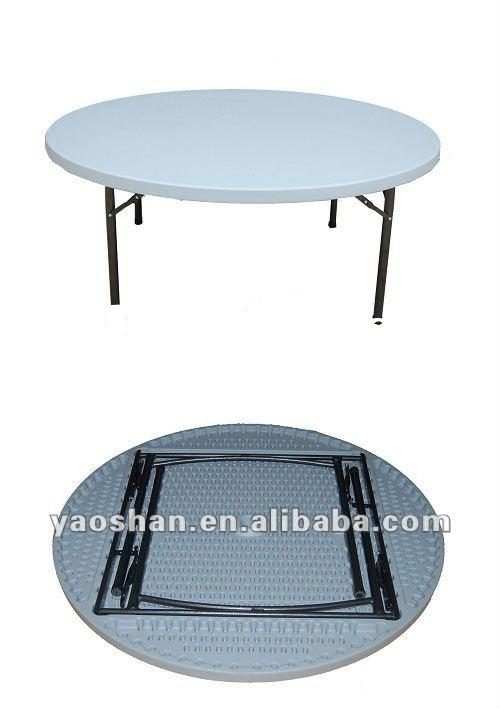 Outdoor folding round table,1.22M Banquet Table