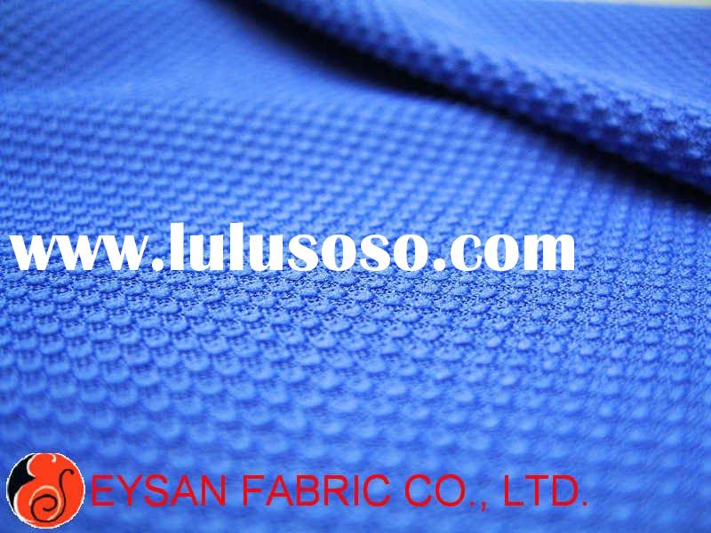POLYESTER/SPANDEX MESH WITH WICKING & ANTI-BACTERIAL FINISH FABRIC