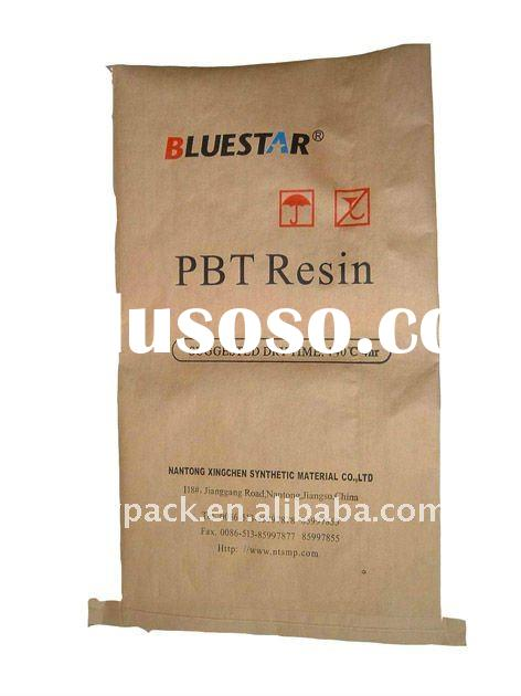 PP and Paper Compound Woven Bag 25kg( for plastic material,Cement, Rice, Flour,Soybean, Fertilizer,