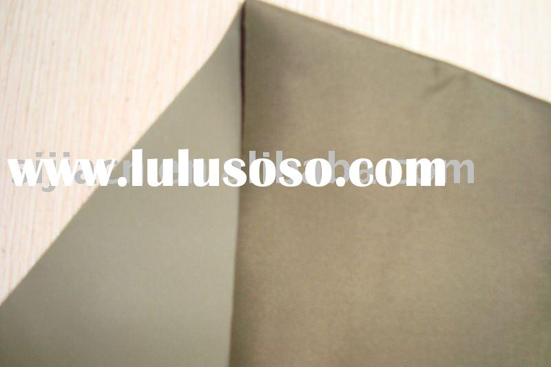 PVC coated nylon (190T), waterproof fabric used for raincoats