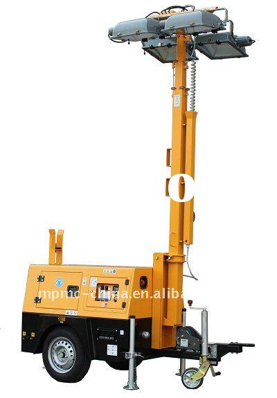 Perkins 45kva diesel light tower generator set