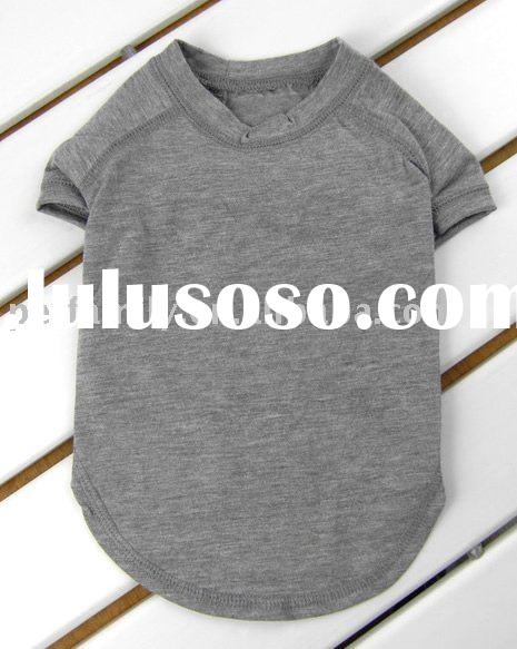 Pet plain t-shirts manufacturer,dog plain t-shirts