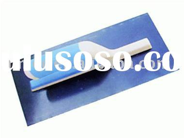 Plastering Trowel with Blue Annealed Blade and Double-Coloured Plastic Handle