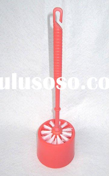Plastic Toilet brush with holder