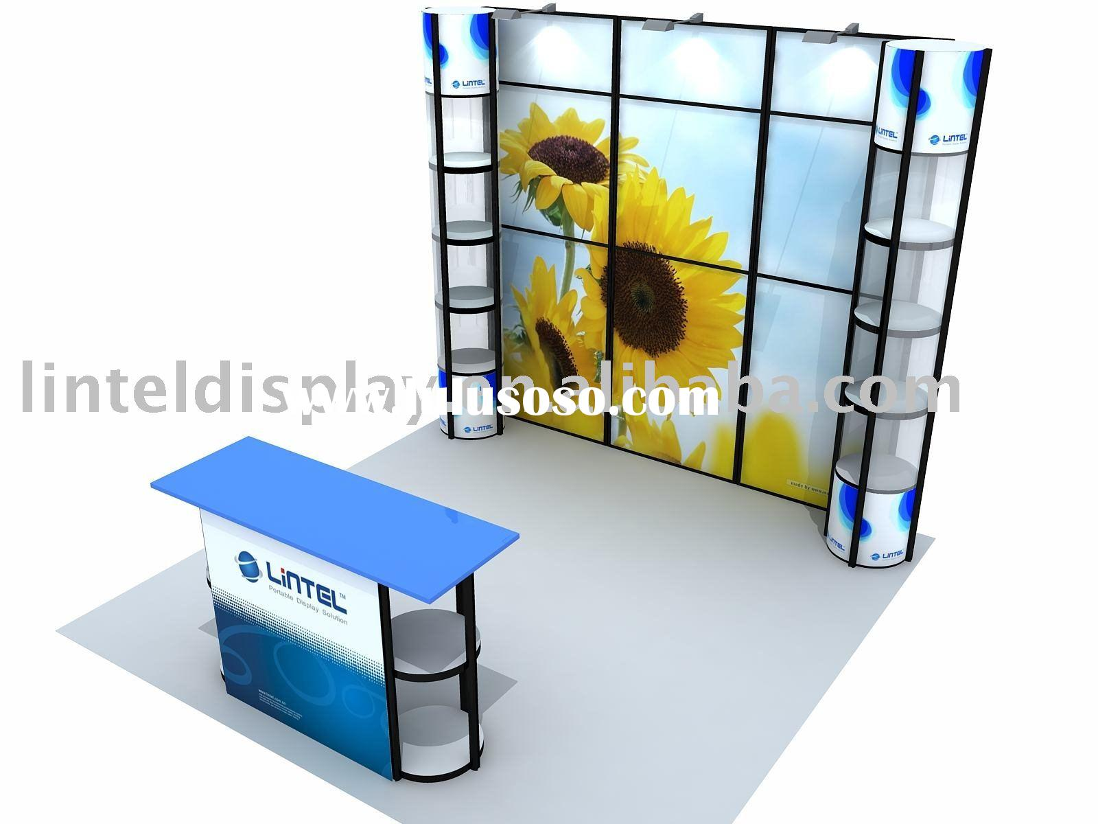 Portable Exhibition Booth Display 3*3m Standard Booth (LT-ZH006)
