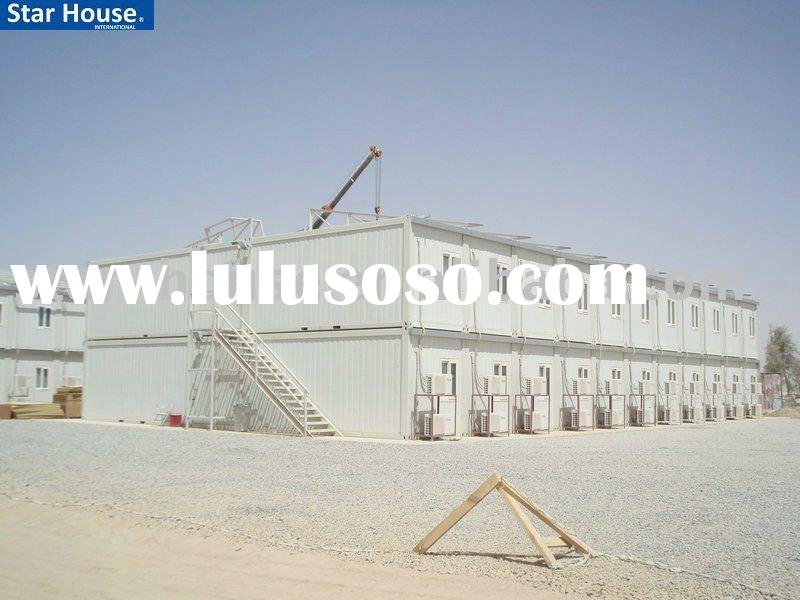 Portable modular building accommodation container