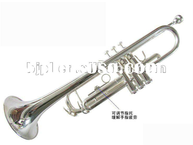 Professional preferred Bb trumpet silver plated three tone trumpet Bach trumpet