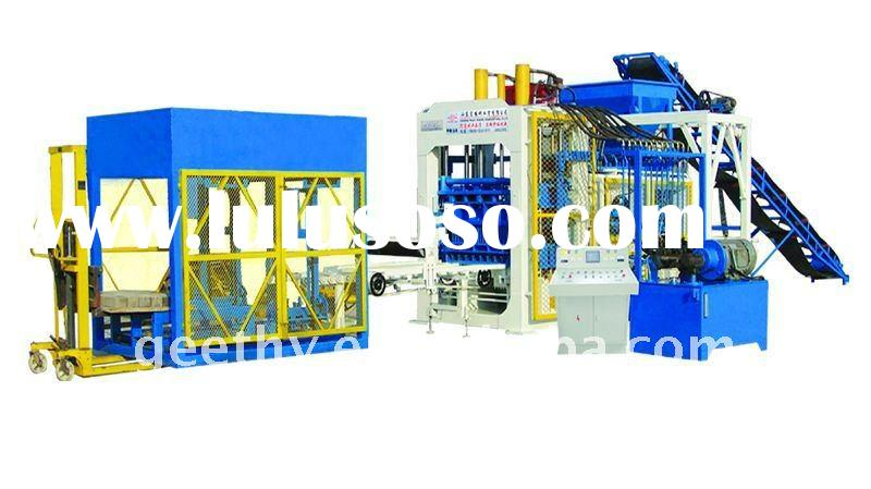 QT10-15 fully automatic hydroform bricks machine