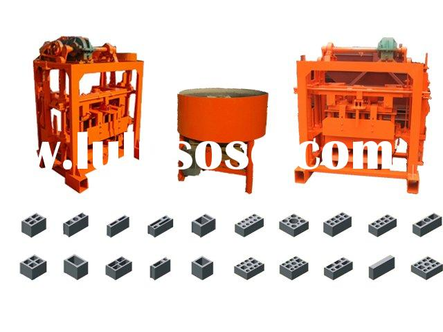 QT40-2 small scale Concrete paving block brick making machine