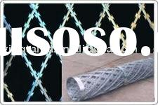 Razor barbed wire, Razor wire, Razor type barbed wire mesh, Concertina type razor barbed wire mesh,H