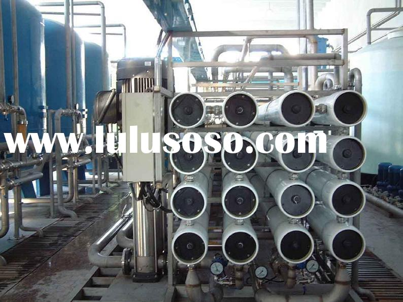 Reverse Osmosis water treatment system used in power plant