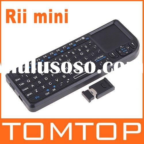 Rii Mini Bluetooth Keyboard with touchpad for ipad/iphone