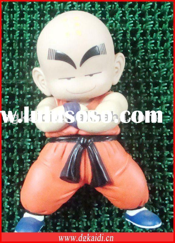 Shaolin boy 3D plastic action figure