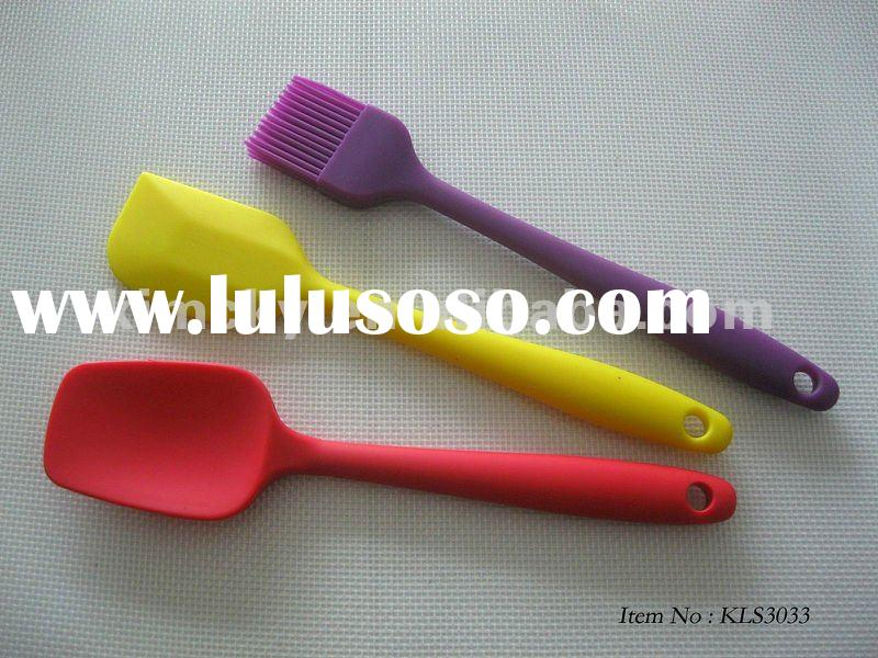Silicone Baking Tools to Spatulas and Brush Set