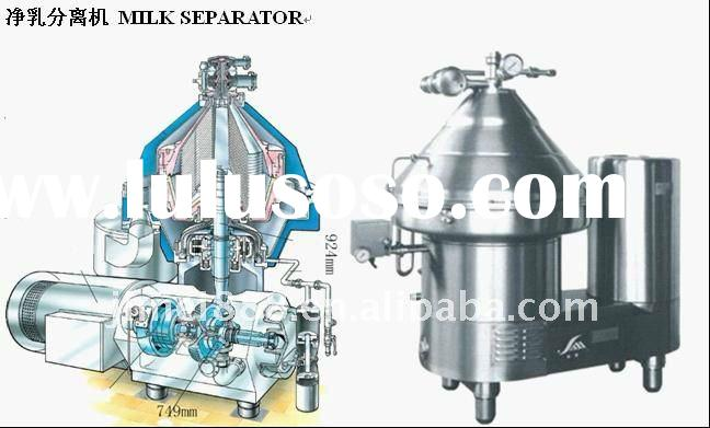 Stainless centrifugal milk cream separator