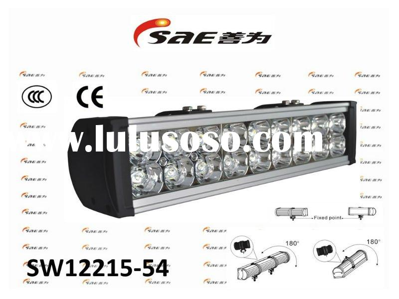Sunway Professional Spot Car LED light bar with CE,ISO for off-road,mining,marine,construction/IP66/
