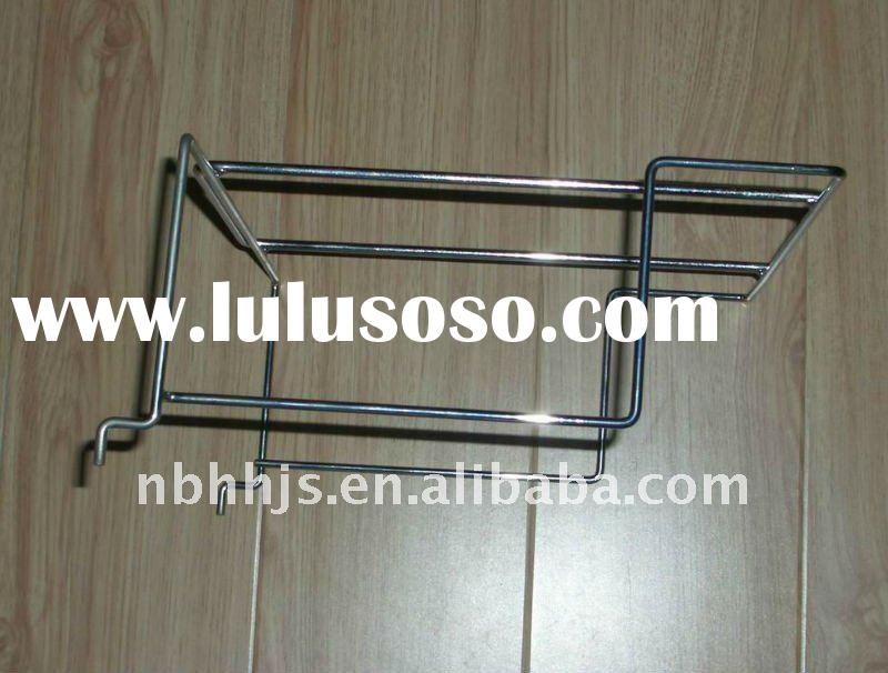 Supermarket small wire steel rack shelving