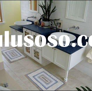 T.W Modern blue Vanity tops Solid surface vanity tops Customzied vanity tops