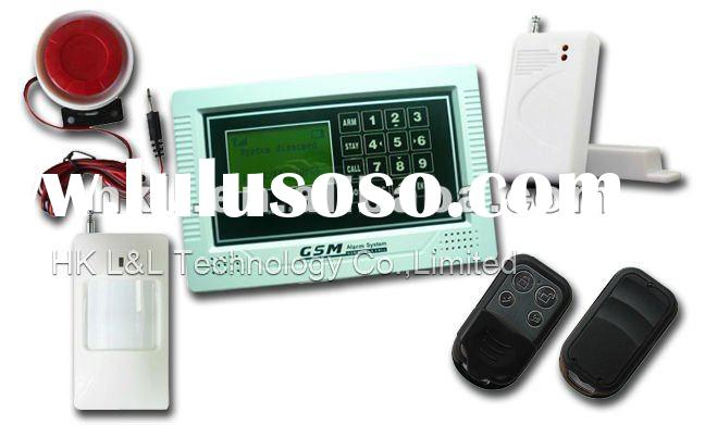 TouchPad Wireless home GSM security Alarm