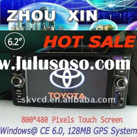 Toyota Auto 2 din Car GPS DVD TV Radio