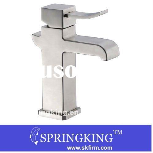 Universal Stainless Steel Basin Sink Faucet Mixer Tap