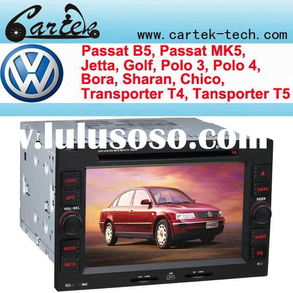 VW Passat B5 Car GPS With 6.2 Inch HD Digital Touch Screen, GPS, IPOD, Radio With RDS, Wince5.0 OS.