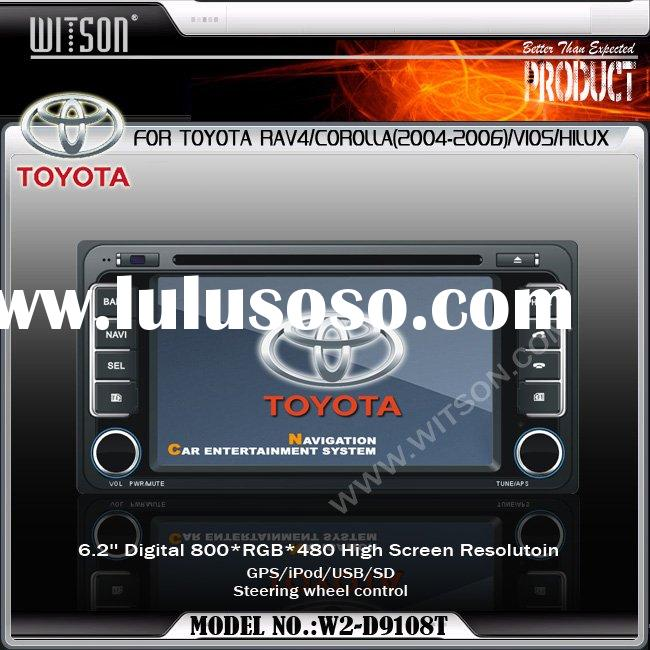 WITSON TOYOTA RAV4/COROLLA/VIOS/HILUX TOYOTA Double Din Car DVD With GPS
