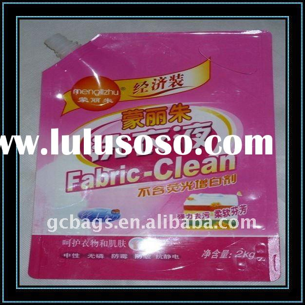 Washing powder bag/laundry detergent container