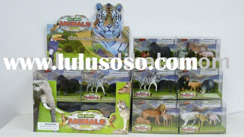 Wild Animal Figurines Play Set