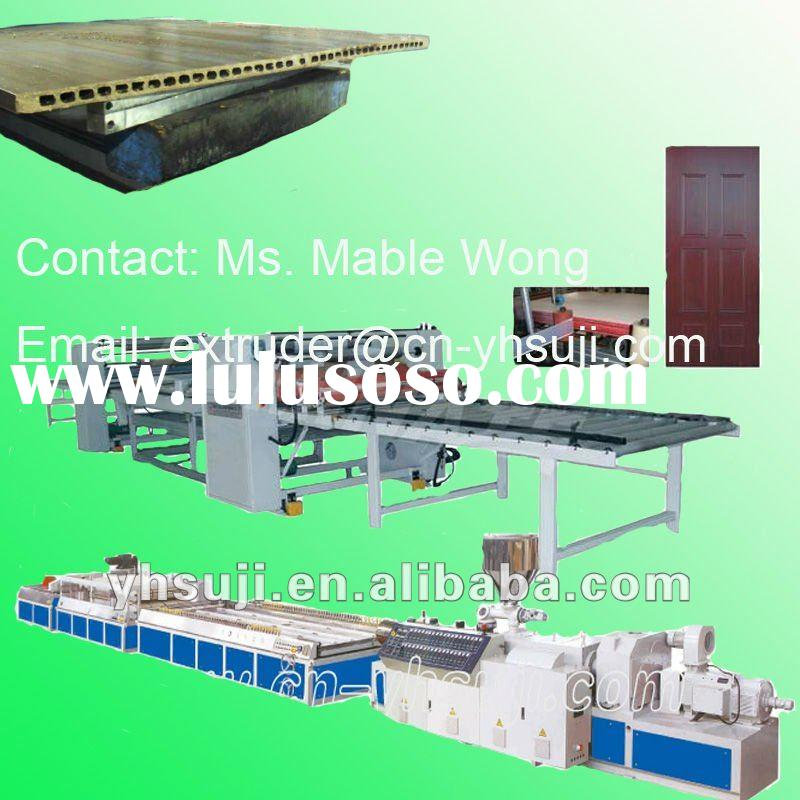 Wood-Plastic WPC Door Extrusion line - Plastic Machinery
