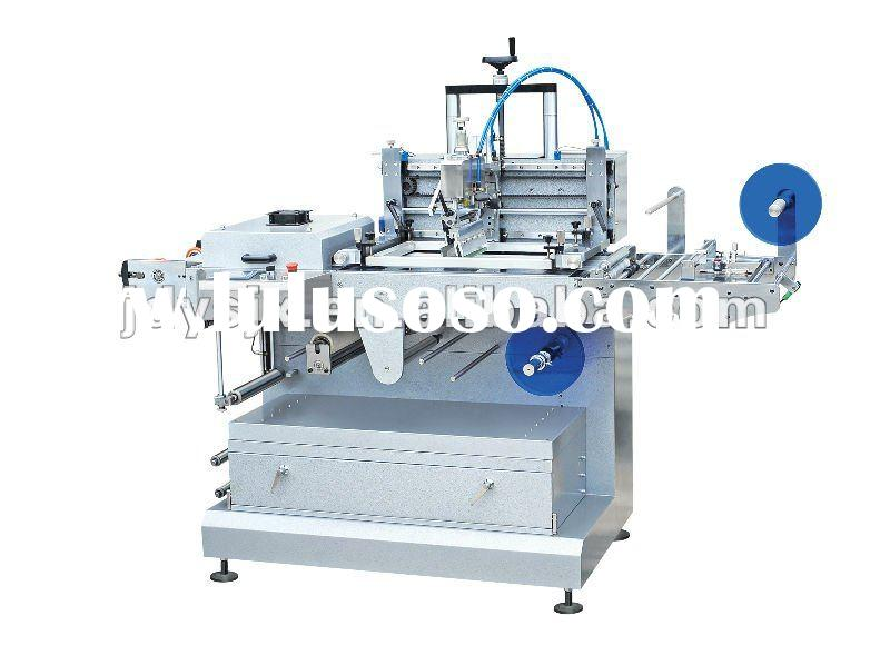 (JDZ-1030 Fully Automatic One-color Silk Screen Trademark Printing)label printing machine
