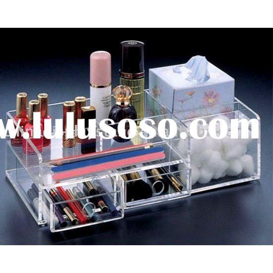 acrylic cosmetic display stand/acrylic makeup holder