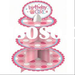 baby shower cupcake stand for girl