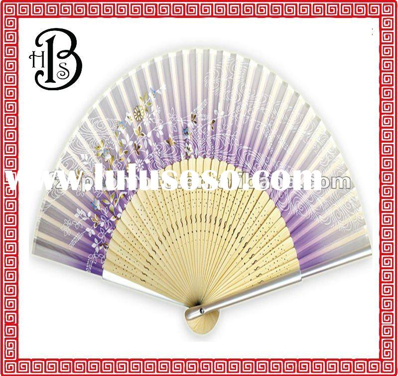 bamboo hand fans with handle