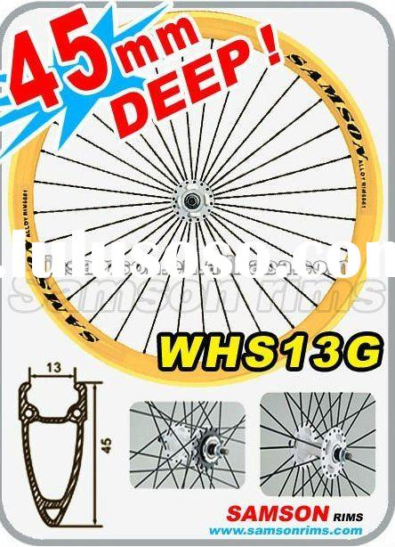 bicycle alloy 700c bike wheels rims Alloy 6061-T6 bicycle wheels HS13G