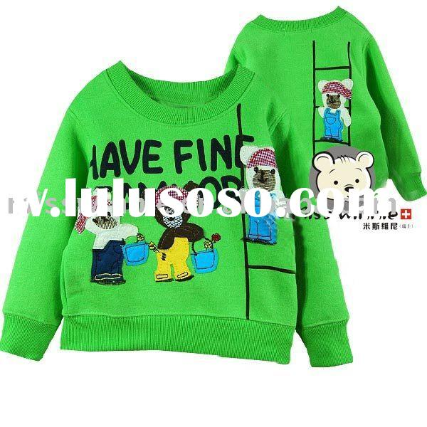 cartoon kids' wear for girls and boys 2012