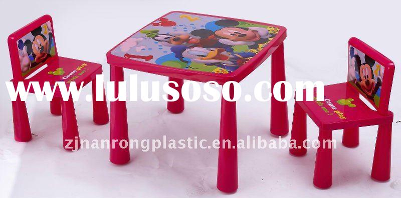 child table and chair set plastic 2