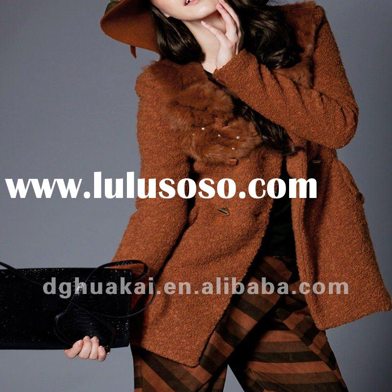 coats for woman wool jackets for ladies fashion outwear wool women short coat plus size winter coats