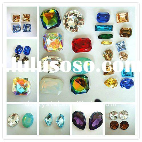 crystal fashion accessories for necklaces