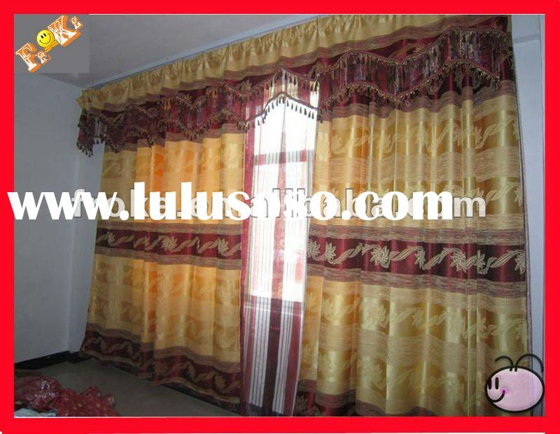 curtain design for hall,factory sell! good price,good quality!