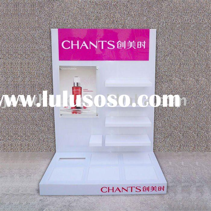 custom acrylic makeup display stand