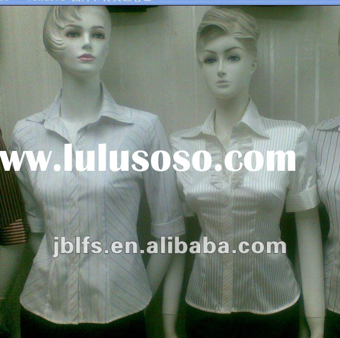 custom oem office ladies office uniform women office uniform shirt blouse