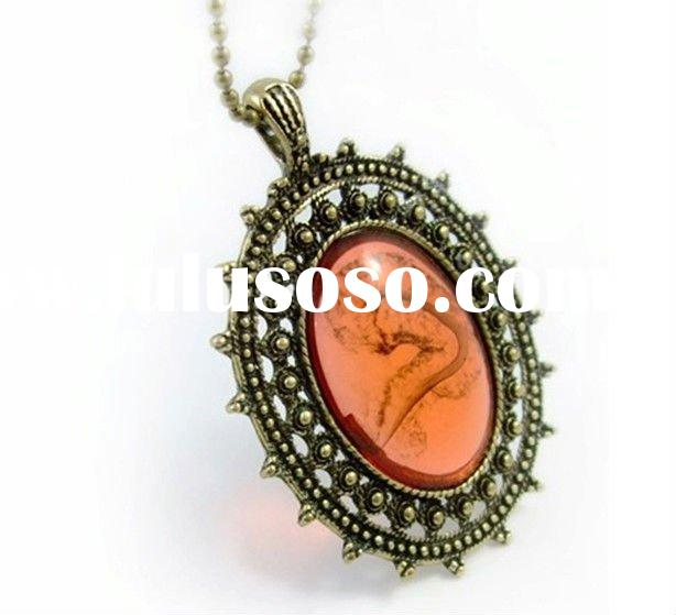fashion jewelry antique necklace jewelry cheap price