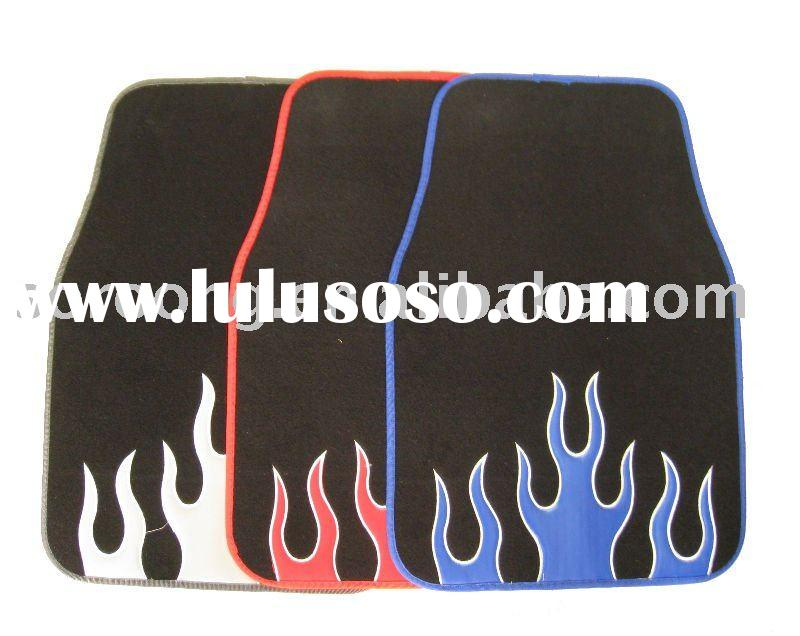 flame car floor mat carpet